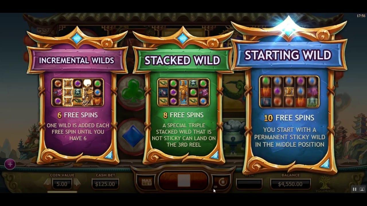 Legend of the Golden Monkey Slots Bonus Features