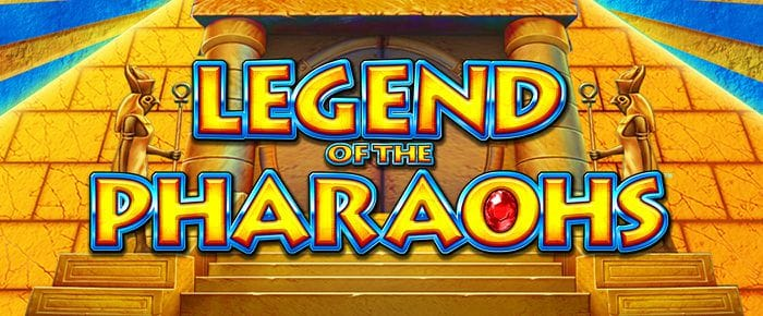 Legend of the Pharaohs Slot Logo Slots Racer