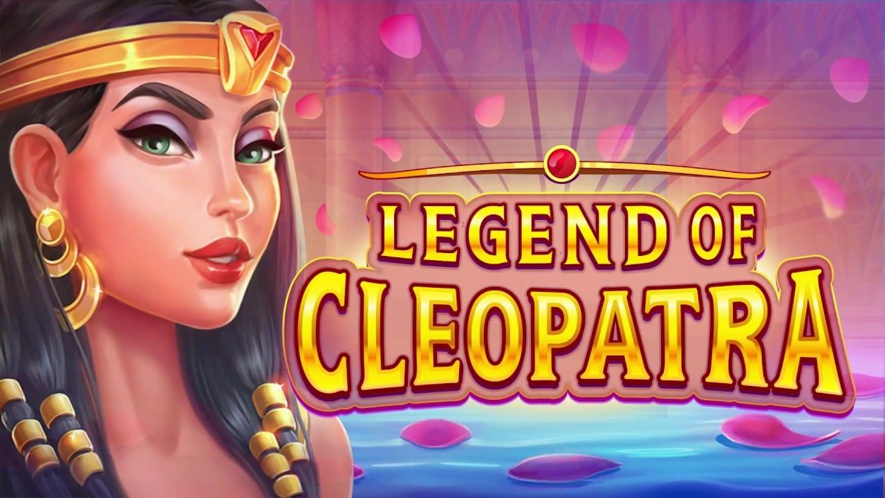 Legends of Cleopatra Slot Logo Slots Racer