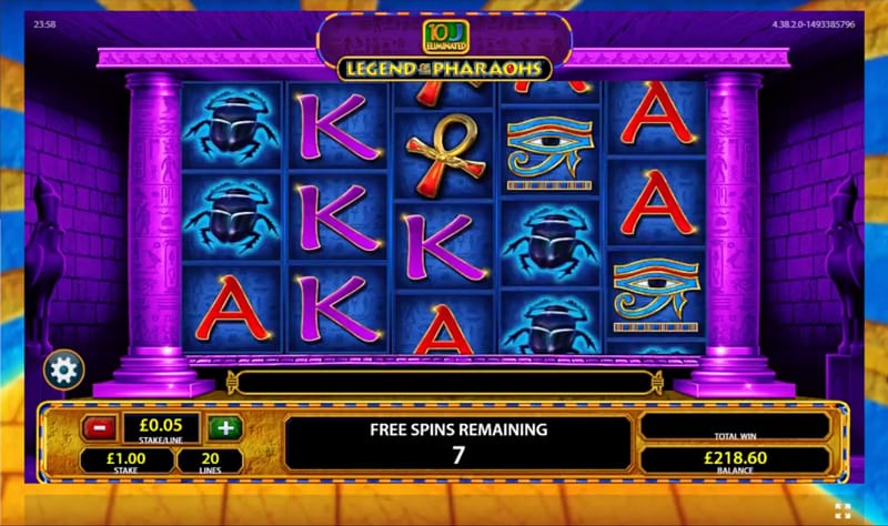 Legend of the Pharaohs Slot Online