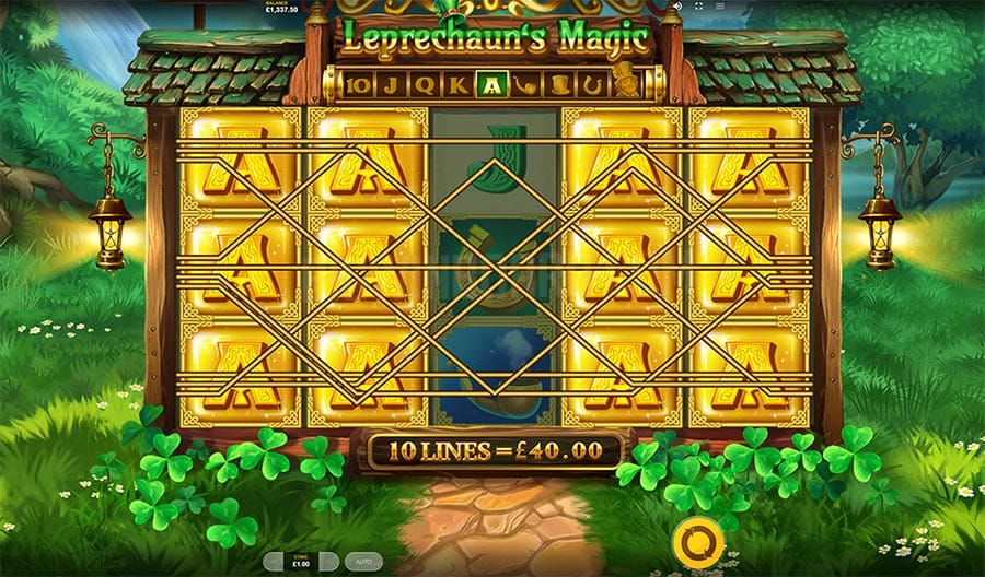 Leprechaun's Magic Megaways Slots Reels