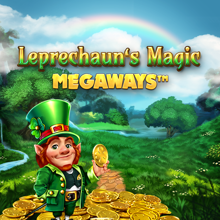 Leprechaun's Magic Megaways Slot Logo Slots Racer