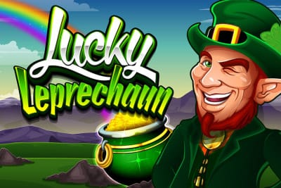 lucky leprechaun slot logo