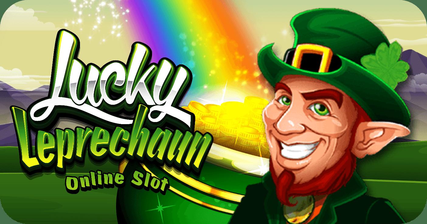 lucky leprechaun slot logo