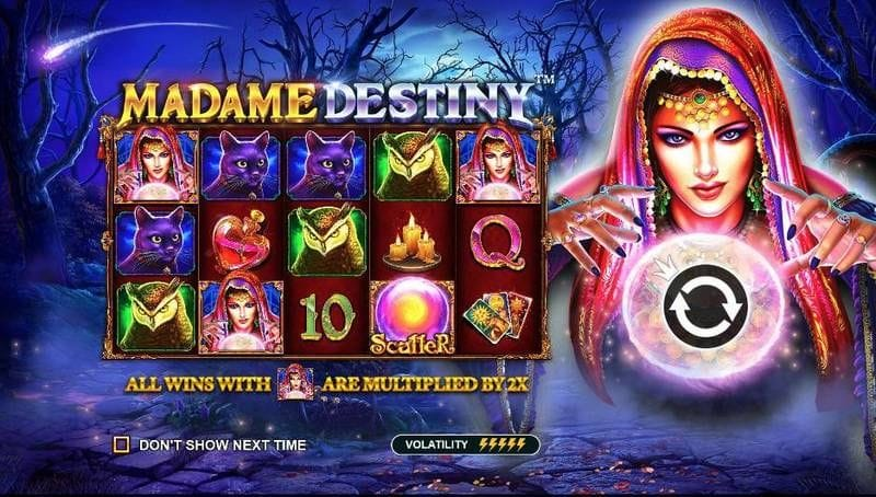 madame destiny mobile slots racer