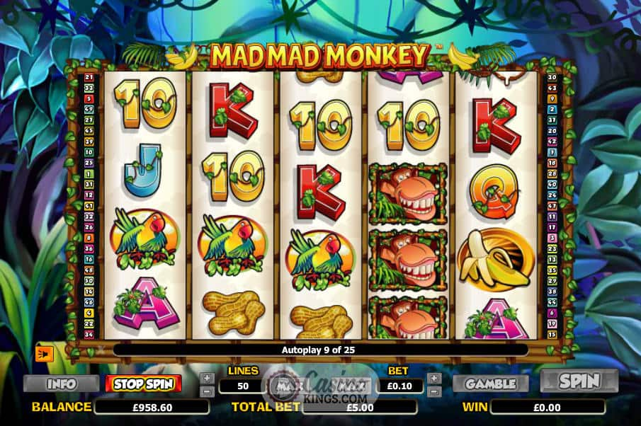 mad mad monkey gameplay casino