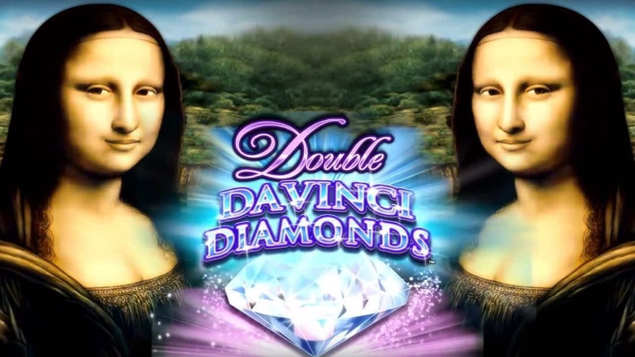 Double Da Vinci Diamonds logo slot