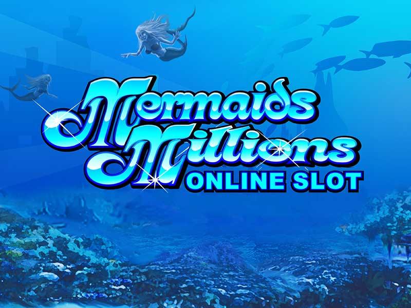 Mermaids Millions slot game logo