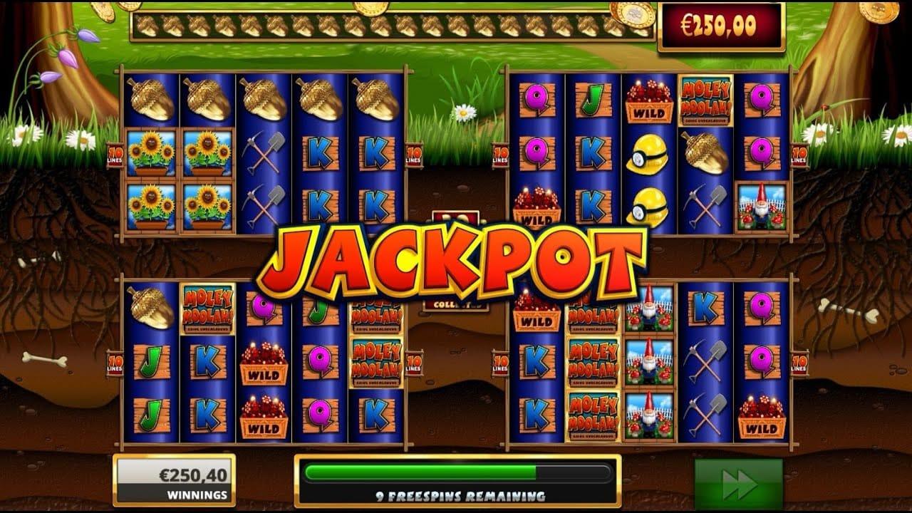 Moley Moolah Jackpot Slot