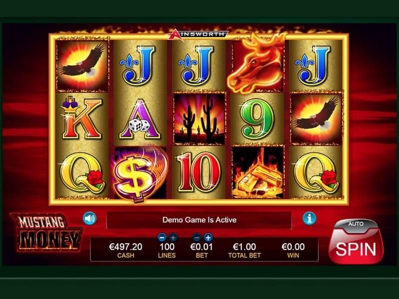 Mustang Money Slot Gameplay
