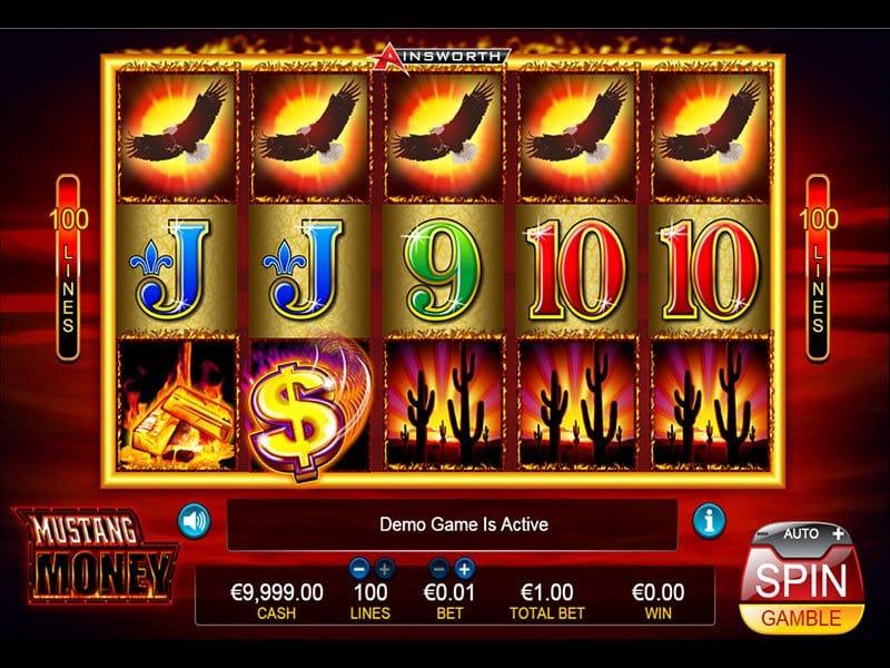 Mustang Money Slots Reels