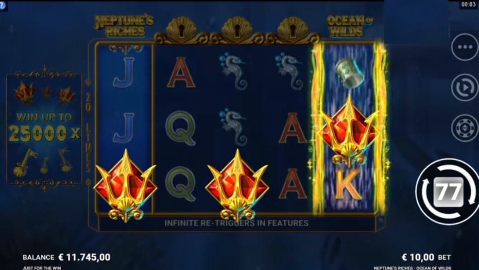 Neptune's Riches: Ocean of Wilds Slots Crowns