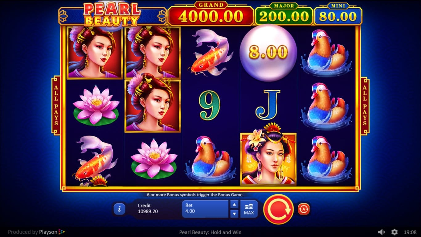 Pearl Beauty Slot Game