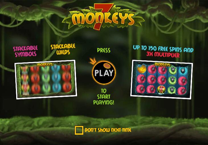 7 Monkeys Slots Gameplay