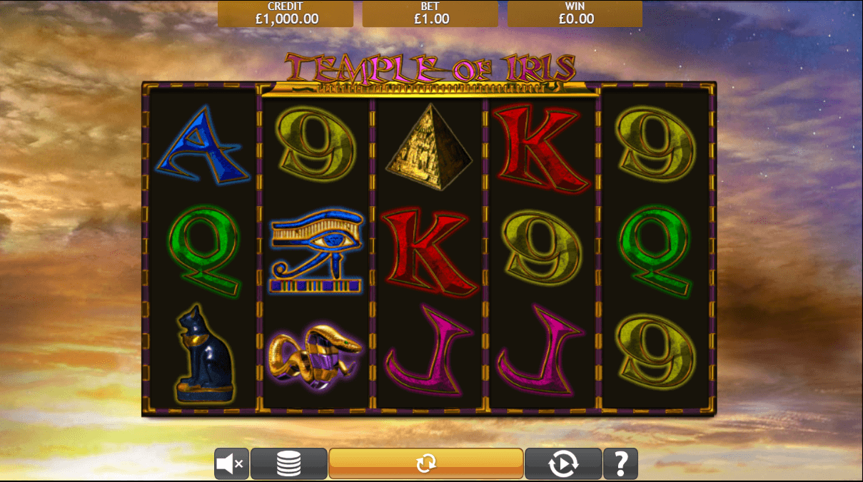 Temple of Iris Casino Games