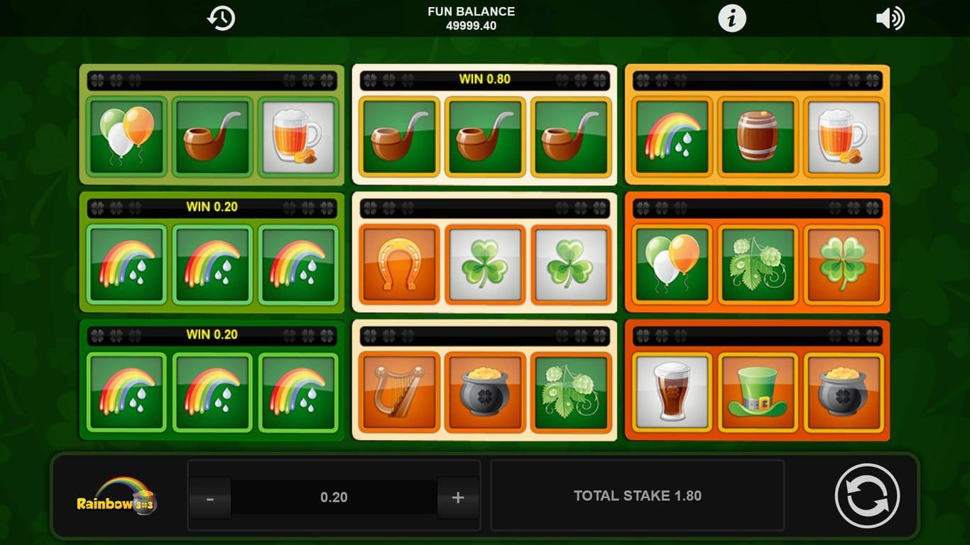 Rainbow 3x3 Slots Online