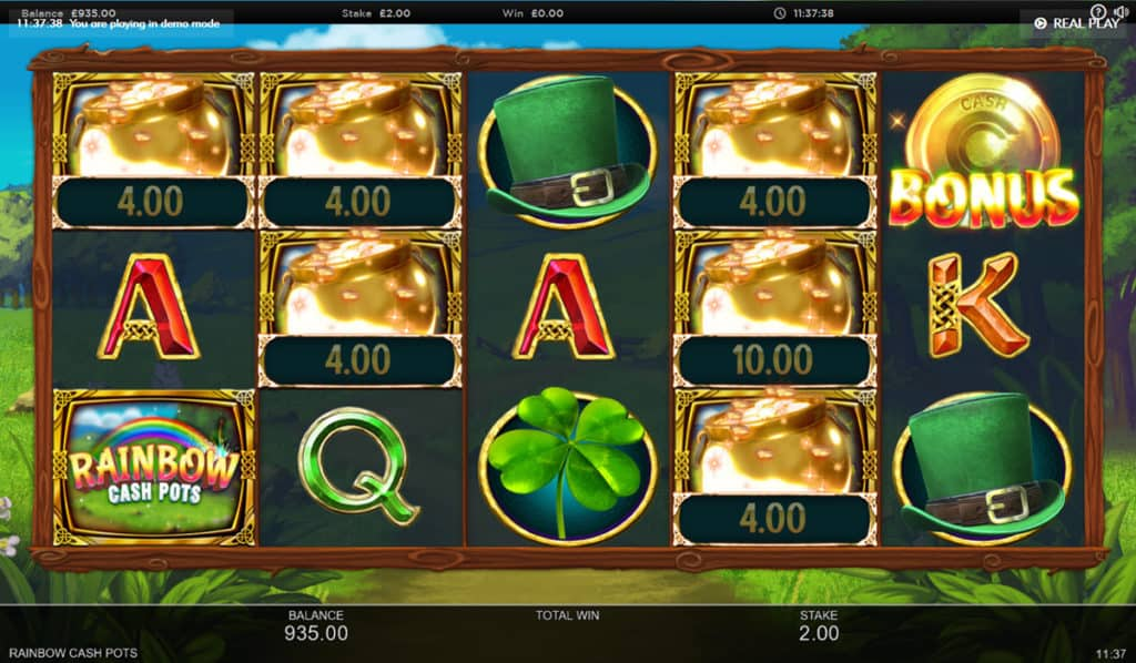 Rainbow Cash Pot Slots Games