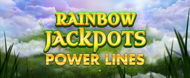 Rainbow Jackpots Power Lines Slots Racer