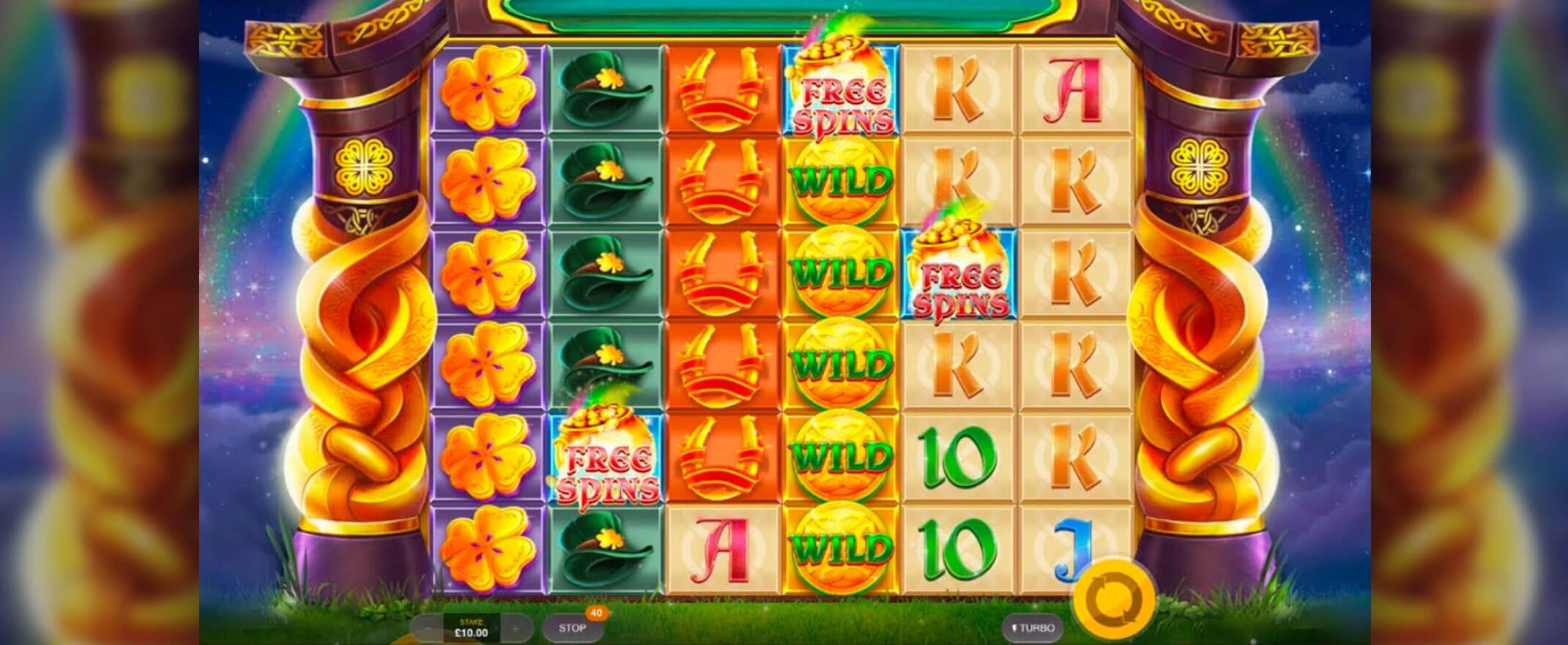 Rainbow Jackpots Power Lines Free Slots