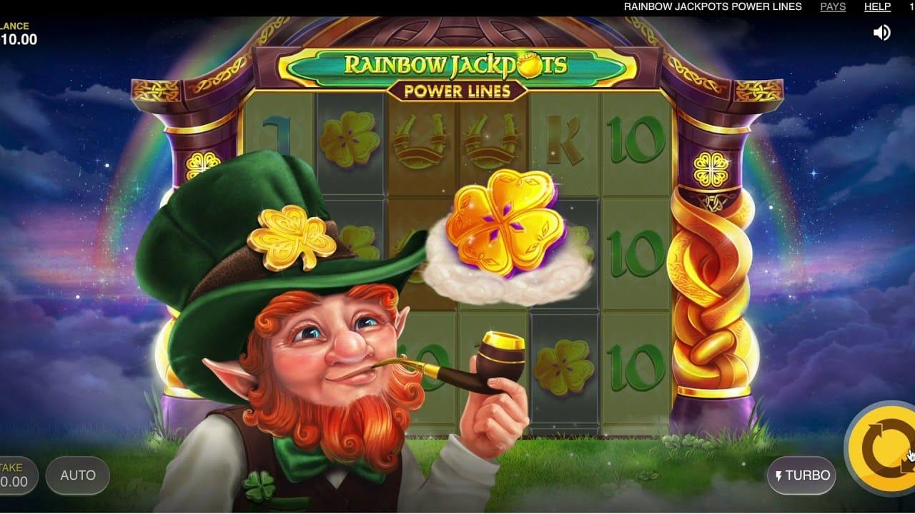 Rainbow Jackpots Power Lines Online slot