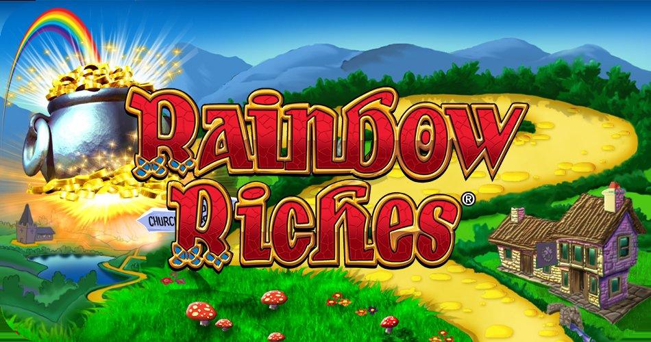 Rainbow Riches slot logo