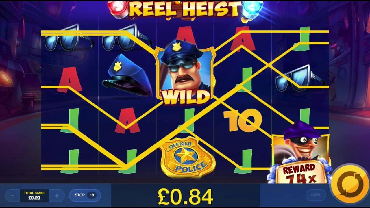 Reel Heist Free Slots