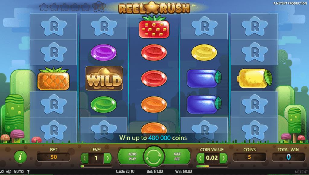 Reel Rush Slots Online
