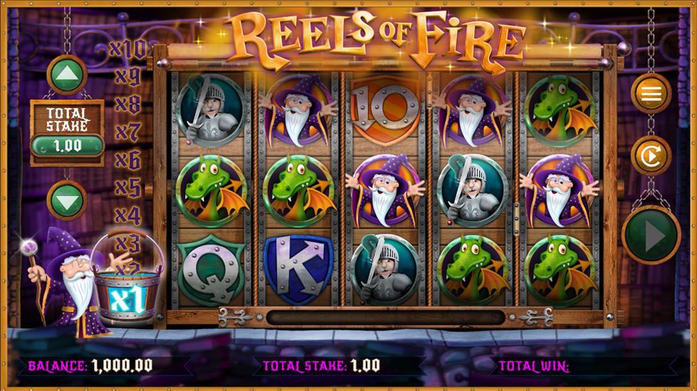 Reels of Fire Slots Game