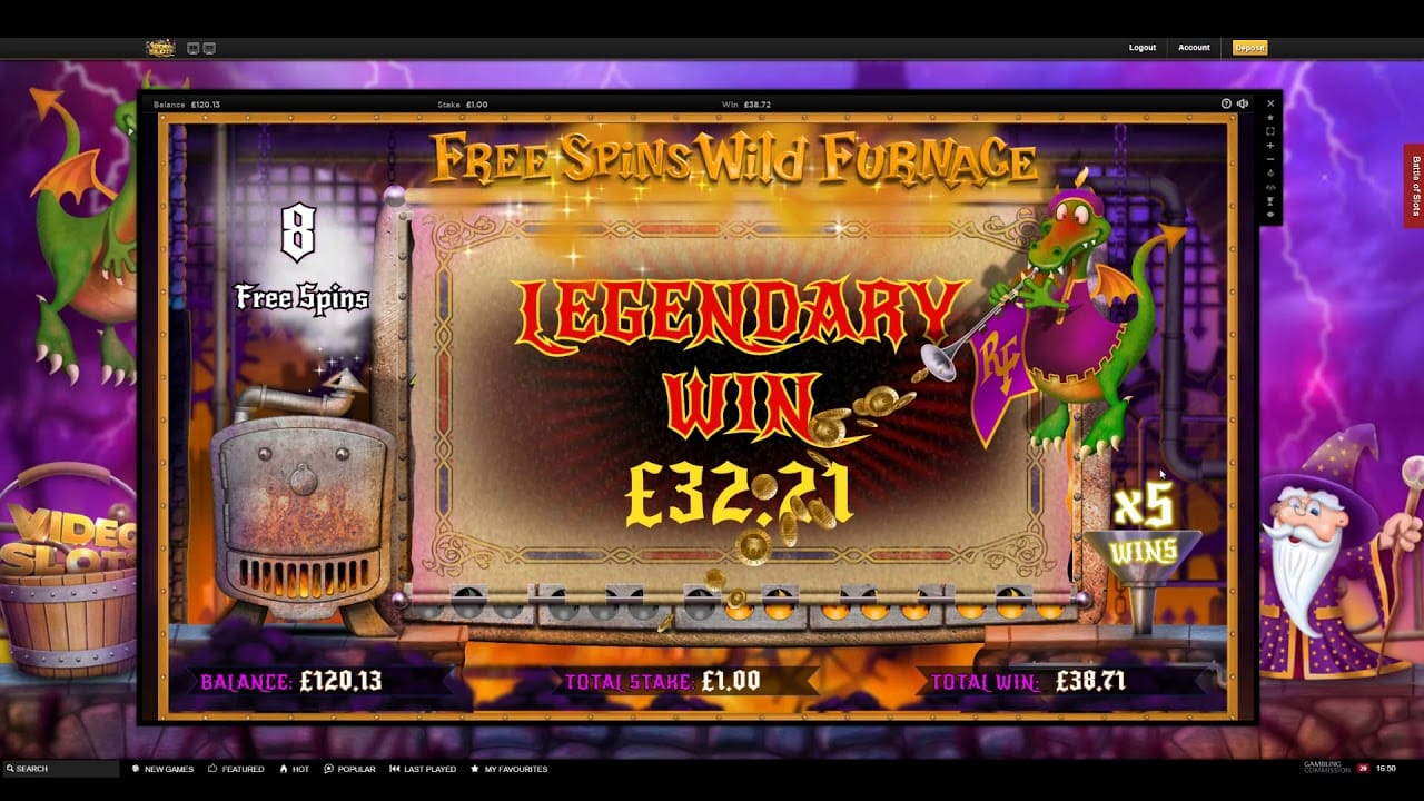 Reels of Fire Slot Game