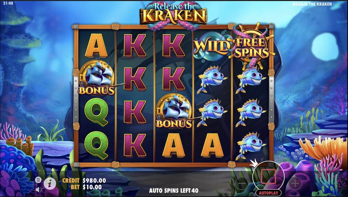 Release the Kraken Slot Wizard Slots