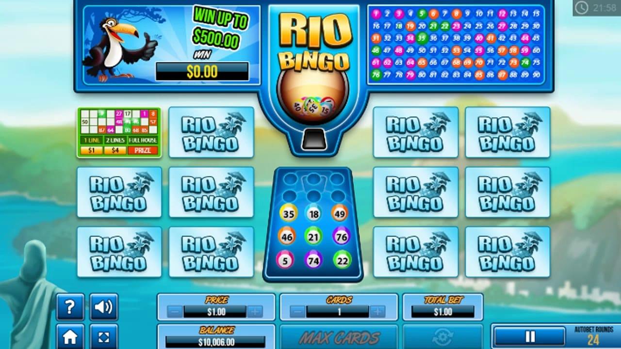 Rio Bingo Free Slots