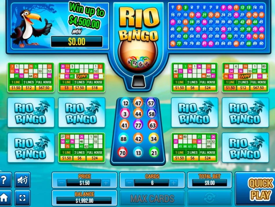 Rio Bingo Slot Game