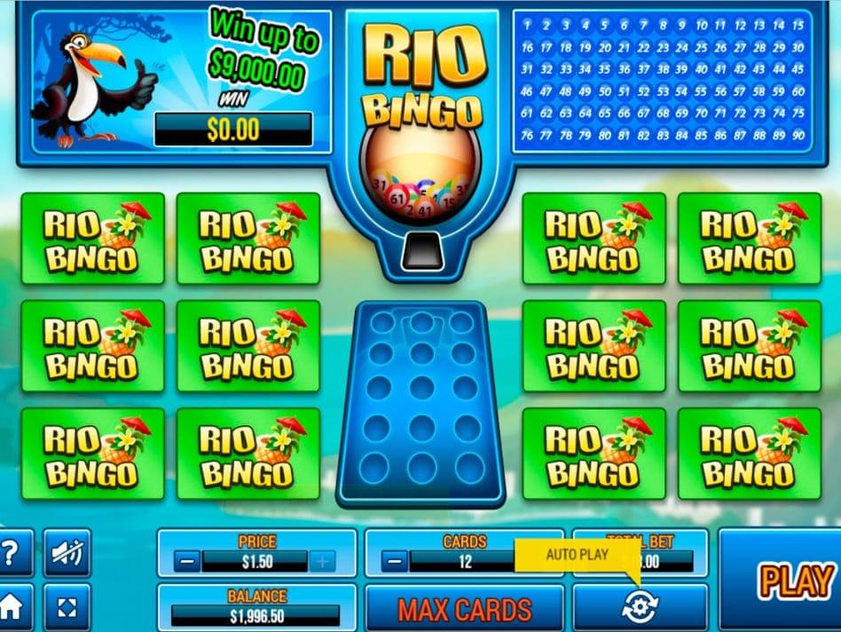 Rio Bingo Slots Online