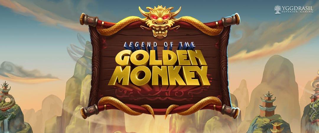 Legend of the Golden Monkey Slot Logo Slots Racer