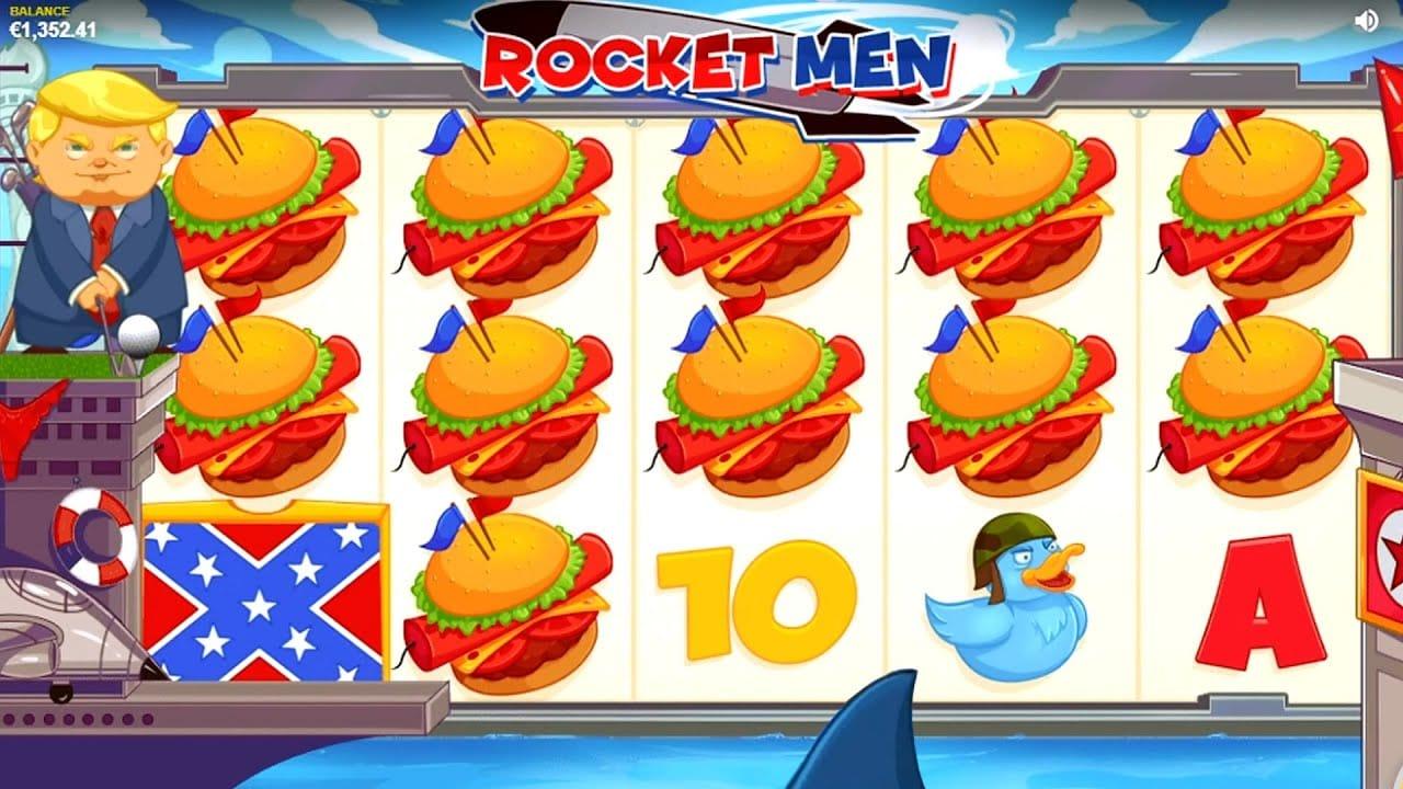 Rocket Men Slot UK