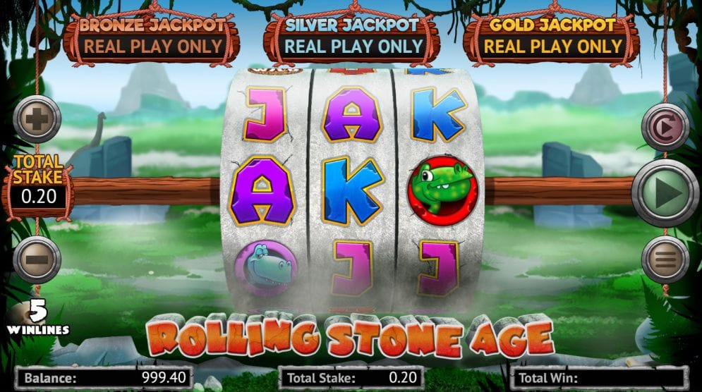 Rolling Stone Age Slot Game