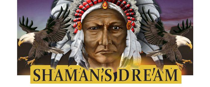 Shaman's Dream logo slot game