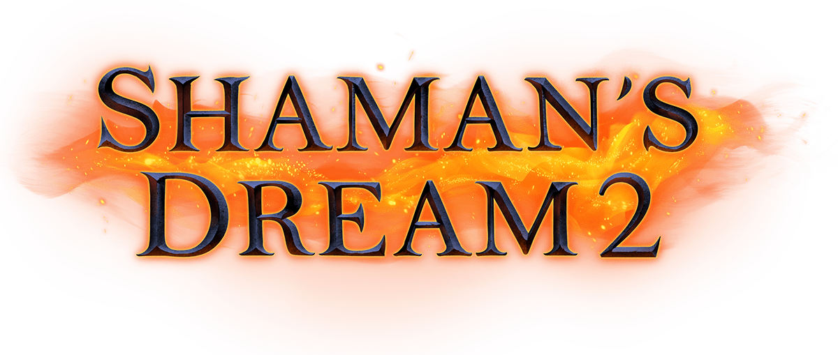 Shaman's Dreams 2 Slot Logo Slots Racer