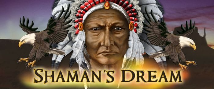 Shaman's Dream logo slot game