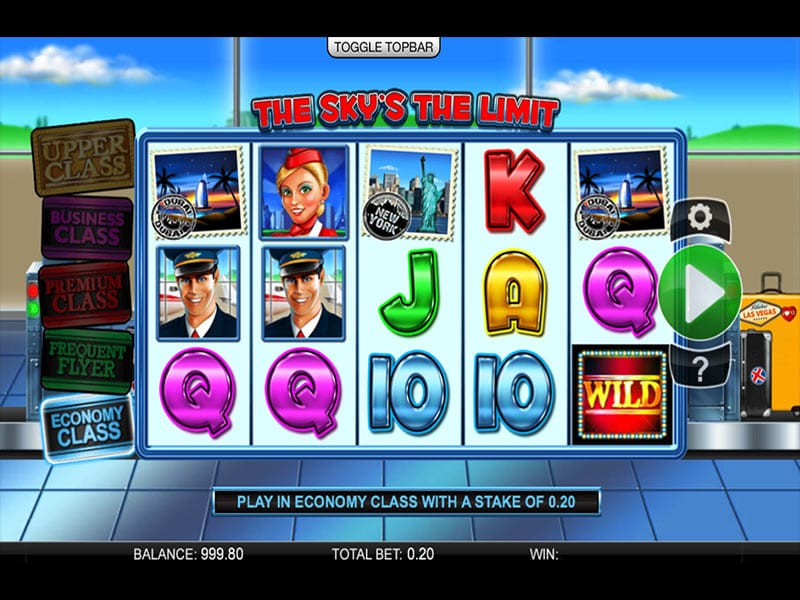 The Sky's The Limit Slots Game