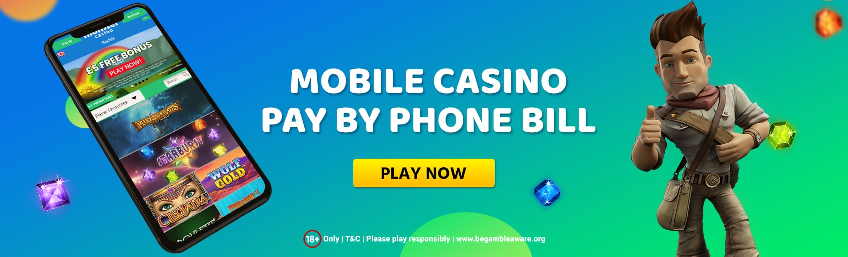 Pros of Pay by Mobile Casino