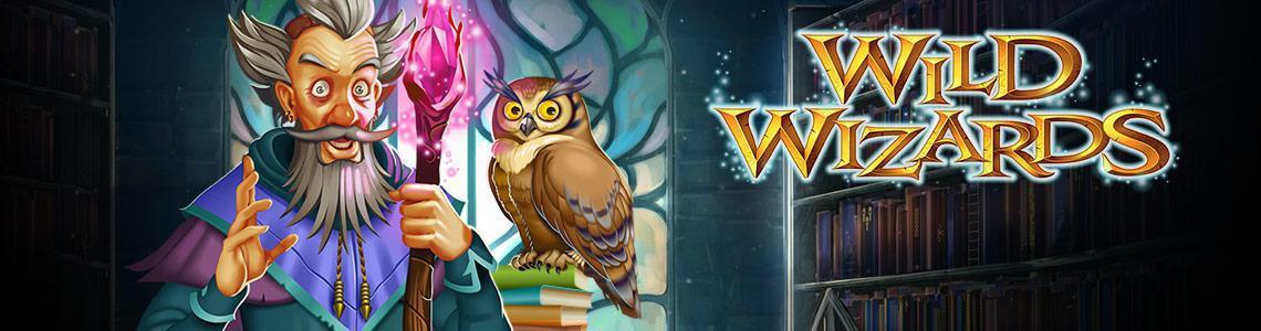 Wild Wizards Slot Logo Slots Racer