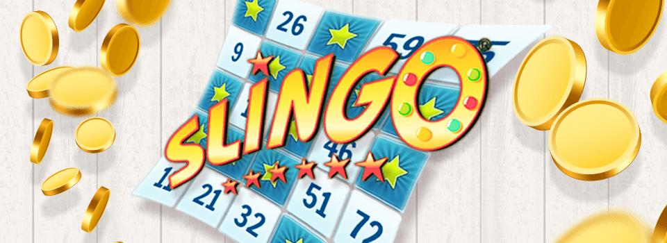 Slingo logo game Slots Racer