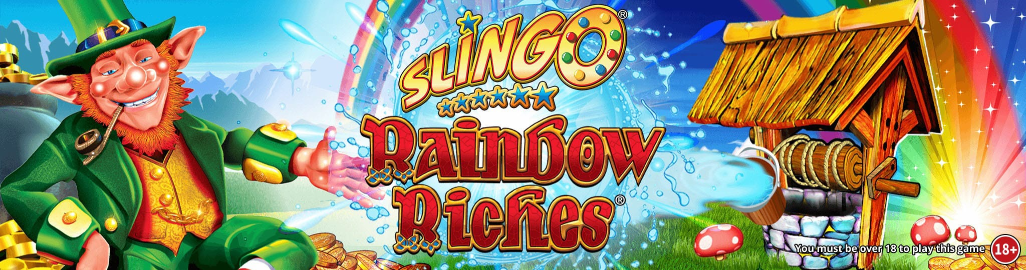 Slingo Rainbow Riches Slots Racer