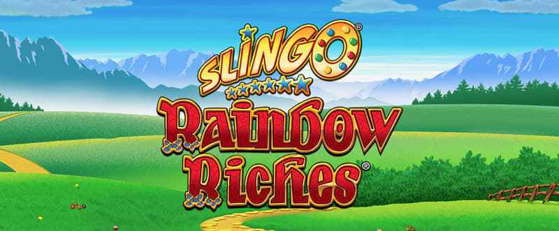 Slingo Rainbow Riches Slots Racer