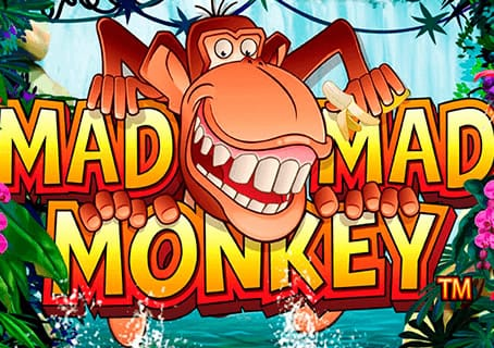 Mad Mad Monkey slot game logo