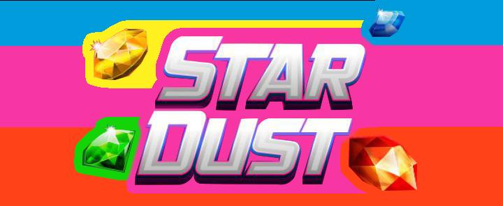 Stardust logo slot game