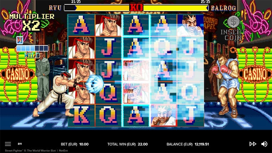 Street Fighter 2 The World Warrior Free Slots