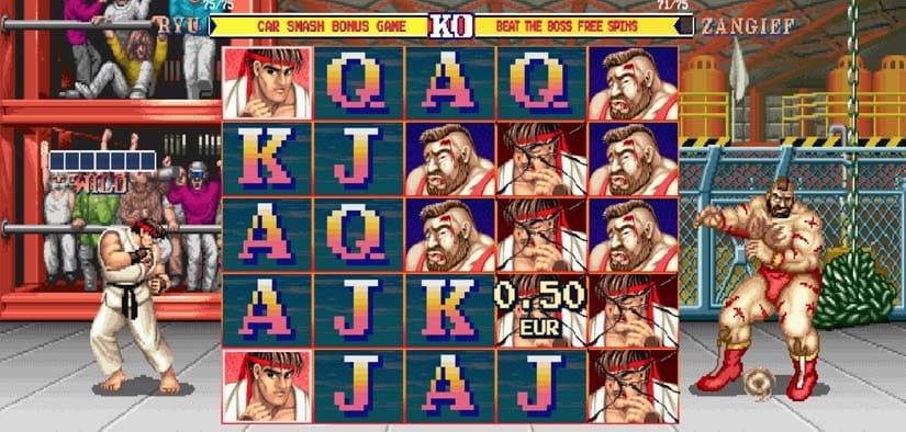 Street Fighter II: The World Warrior Slots Online