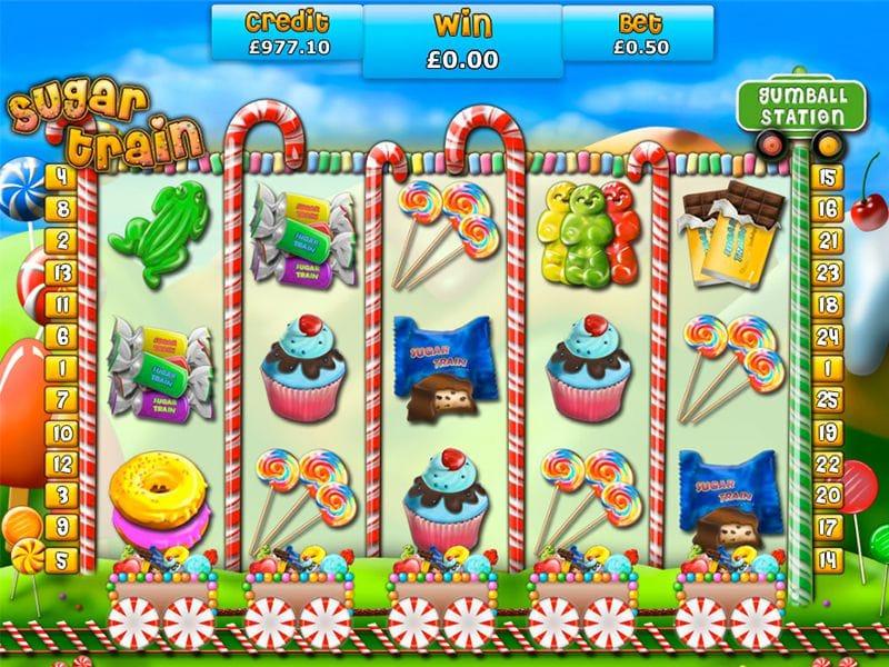 Sugar Train gameplay casino